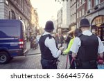British Police Officers In...