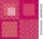 abstract decorative vector... | Shutterstock .eps vector #366465116
