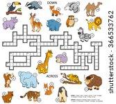 Vector Color Crossword ...