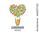 logo for lemonade | Shutterstock .eps vector #366557132