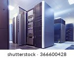 supercomputer clusters in the... | Shutterstock . vector #366600428