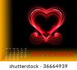 september | Shutterstock . vector #36664939