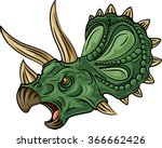 illustration of angry... | Shutterstock .eps vector #366662426