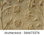 Beautiful Flowers Carved In...