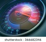speedometer scoring high speed  ... | Shutterstock . vector #366682346