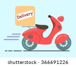 delivery | Shutterstock .eps vector #366691226