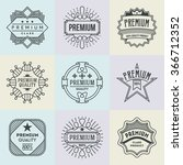 assorted premium quality... | Shutterstock .eps vector #366712352