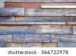 background of reclaimed timber... | Shutterstock . vector #366722978