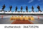 hua hin thailand   january 17... | Shutterstock . vector #366735296