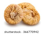 Small photo of dried figs isolated