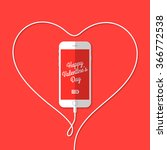 Phone  Wire  Heart  Valentine's ...