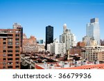 view of metropolitan city... | Shutterstock . vector #36679936