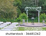 Arch Gate For The Wedding...