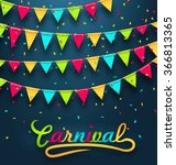 Illustration Carnival Party...