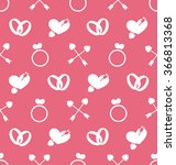 illustration seamless wallpaper ... | Shutterstock .eps vector #366813368