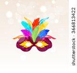 illustration colorful carnival... | Shutterstock .eps vector #366813422