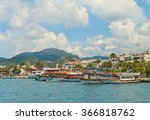 view of tourist boats at... | Shutterstock . vector #366818762