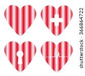 heart set | Shutterstock . vector #366864722