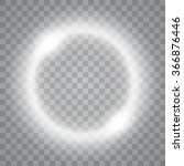 round shiny frame background... | Shutterstock .eps vector #366876446