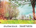 Spring Nature Background With...