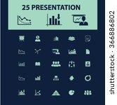 presentation  chart  diagram ... | Shutterstock .eps vector #366886802