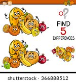 cartoon illustration of finding ... | Shutterstock .eps vector #366888512