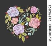 heart | Shutterstock . vector #366903926