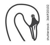 Swan Icon. Swan Icon Vector....