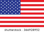 flag of the united states of... | Shutterstock .eps vector #366928952