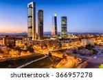 madrid  spain financial... | Shutterstock . vector #366957278