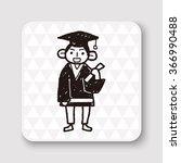 student doodle | Shutterstock . vector #366990488