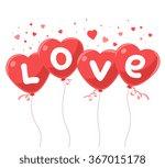 vector illustration of lovely... | Shutterstock .eps vector #367015178