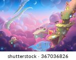 creative illustration and... | Shutterstock . vector #367036826