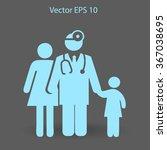 family practice vector... | Shutterstock .eps vector #367038695
