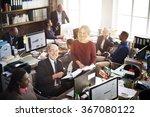 business people meeting... | Shutterstock . vector #367080122