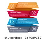 four steps  infographics... | Shutterstock .eps vector #367089152