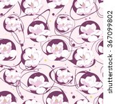 seamless floral pattern.... | Shutterstock .eps vector #367099802