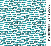 vector seamless pattern with... | Shutterstock .eps vector #367110092