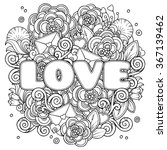 love valentines day composition ...   Shutterstock .eps vector #367139462