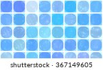 abstract background. blue mosaic   Shutterstock . vector #367149605