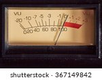 Vu Meter Analog Of Audio...