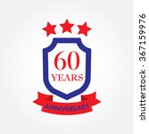 60 years anniversary icon or...   Shutterstock .eps vector #367159976