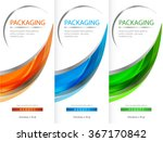 package template box design... | Shutterstock .eps vector #367170842