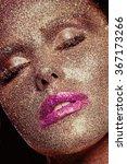 beautiful  amazing portrait of... | Shutterstock . vector #367173266