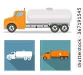 tank truck | Shutterstock .eps vector #367191545