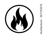 fire icon | Shutterstock .eps vector #367192076
