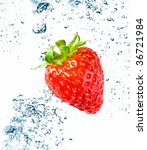beautiful splashes a clean... | Shutterstock . vector #36721984
