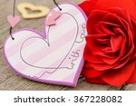 valentines day in romance with... | Shutterstock . vector #367228082