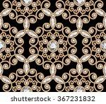 vintage gold diamond ornament ... | Shutterstock . vector #367231832