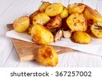 Roast Potatoes Seasoned With...